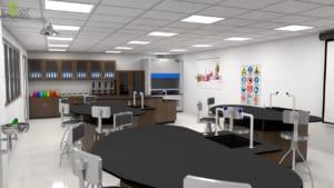 phòng lab hóa lý trường quốc tế
