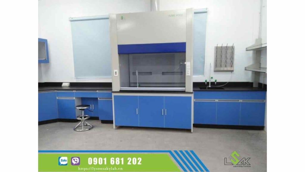 Tủ hút khí độc phòng lab