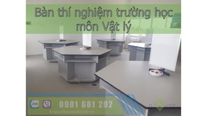 Bàn thí nghiệm vật lý trường học Hưng Hưng Thịnh- Tây Ninh