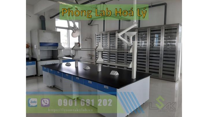 Phòng lab hoá lý cho sinh viên