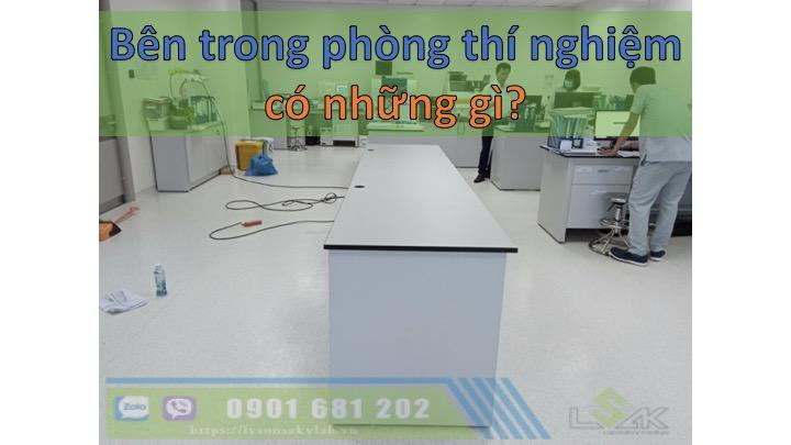 Bên trong phòng thí nghiệm có gì?