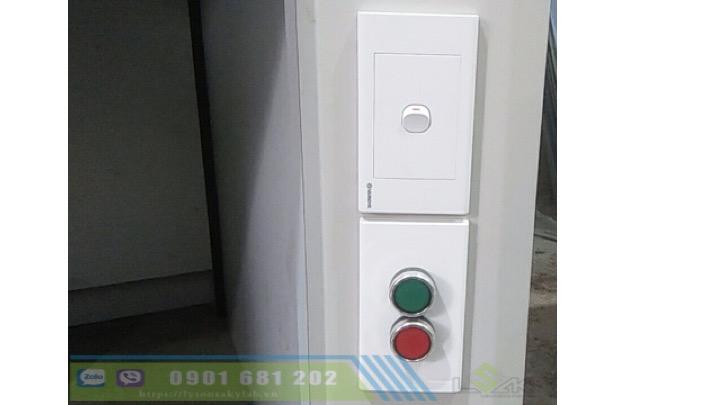Công tác điều khiển quạt tủ hút khí độc