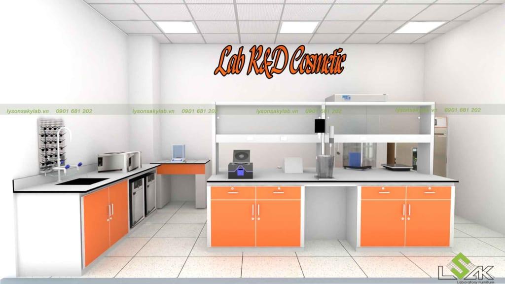 Phòng lab nhiều sắc màu tạo cảm hứng cho sáng tạo
