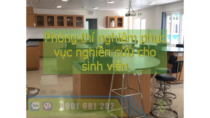 Các phòng lab cho sinh viên