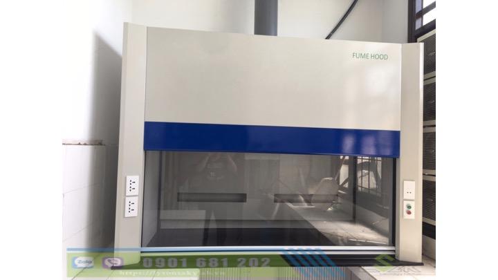 Tủ hút khí độc không chân phòng lab