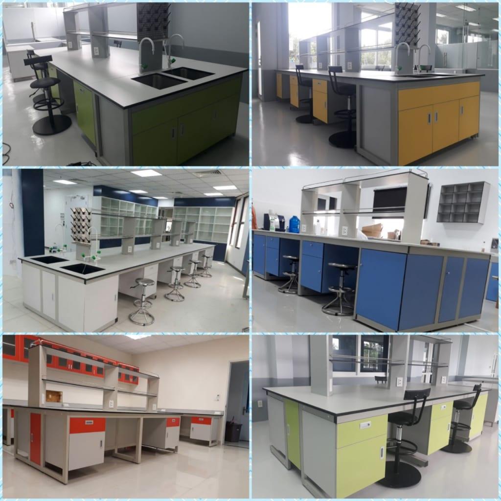 bàn thí nghiệm, bàn thí nghiệm trung tâm