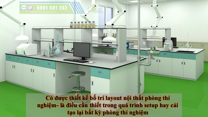 thiết kế phòng thí nghiệm là thiết yếu