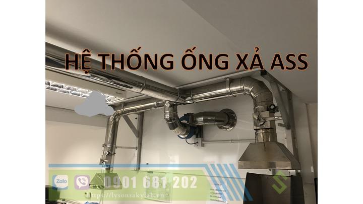 Hệ thống ống xả khói nóng ASS