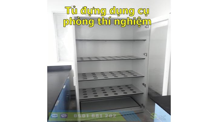 Tủ đựng dụng cụ phòng thí nghiệm