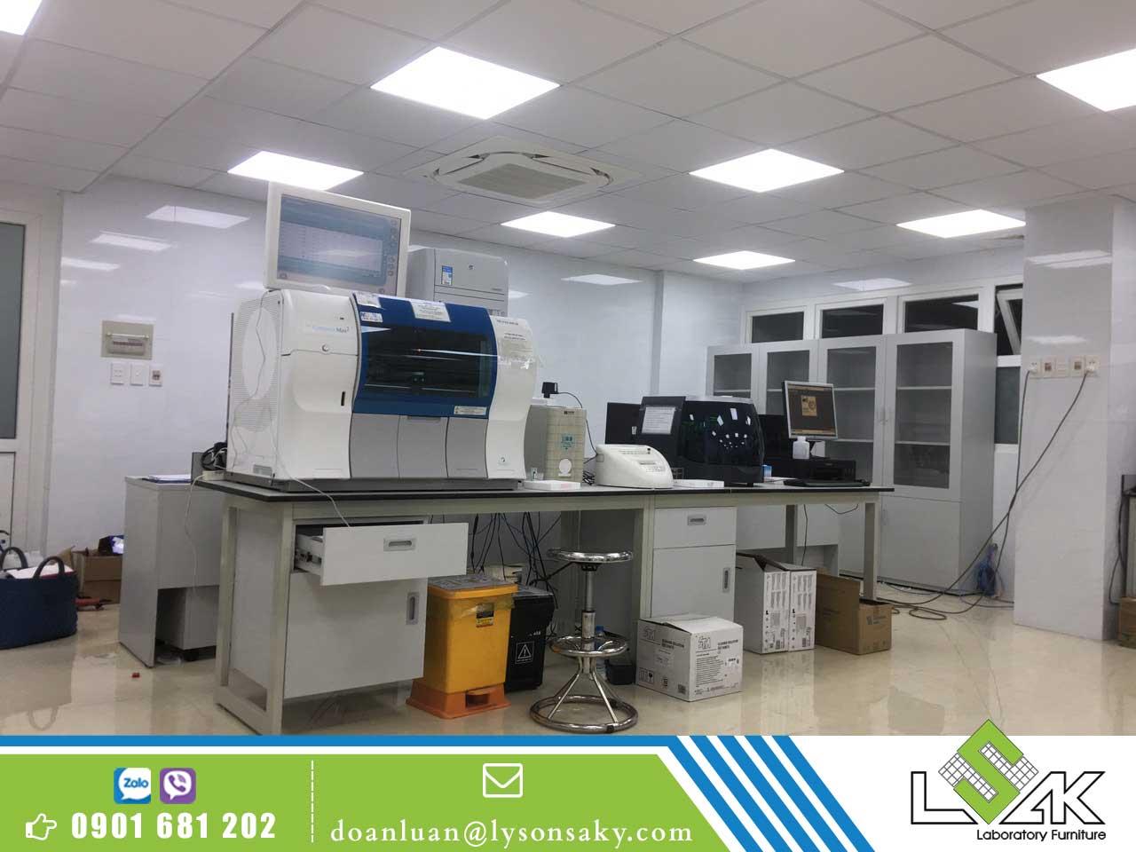 Khoa Xét nghiệm Bệnh viện Thống Nhất