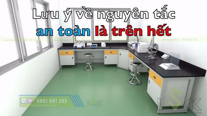 nguyên tắc an toàn phòng thí nghiệm