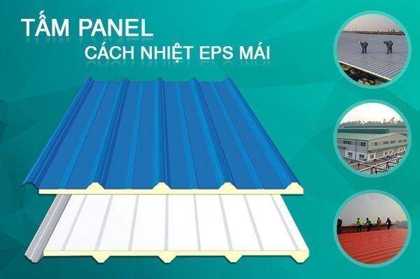 Tấm panel cách nhiệt Eps cho mái
