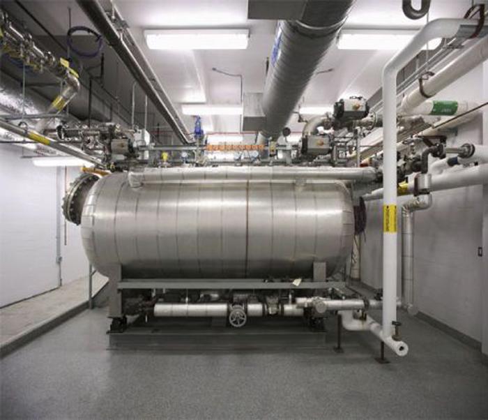 Hệ thống xử lý nước thải của phòng thí nghiệm BSL-4.