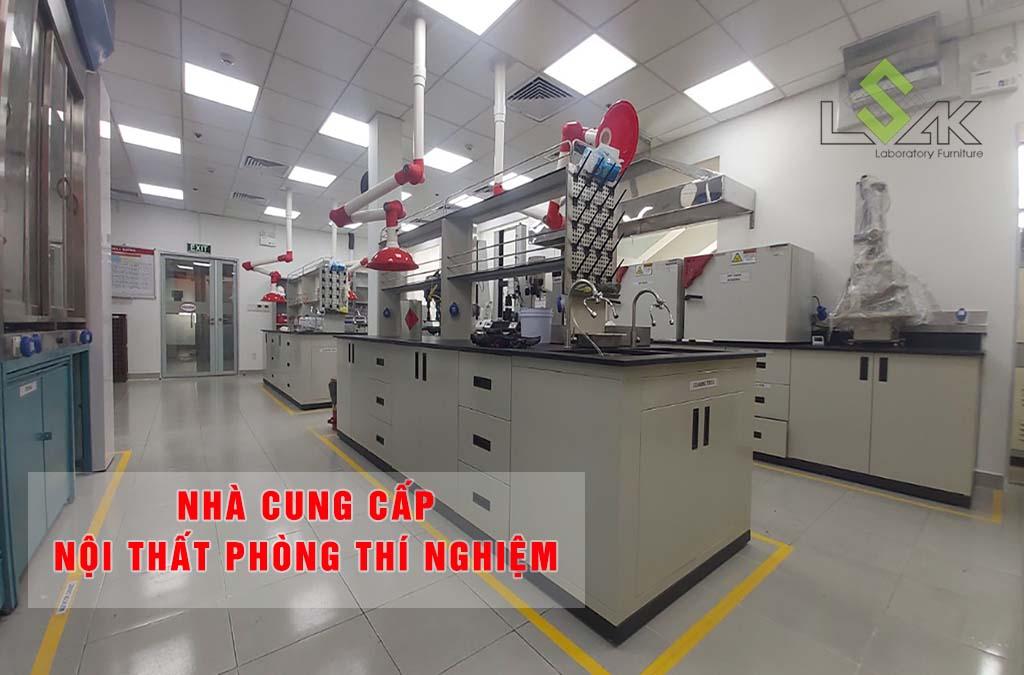 Nhà cung cấp nội thất phòng thí nghiệm đạt tiêu chuẩn ISO