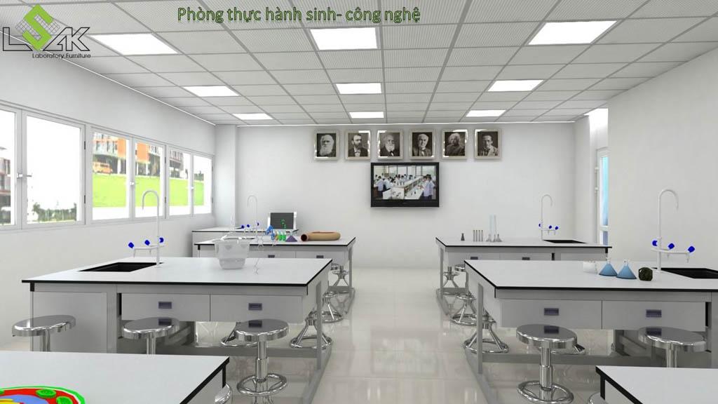 Nội thất phòng thí nghiệm sinh học
