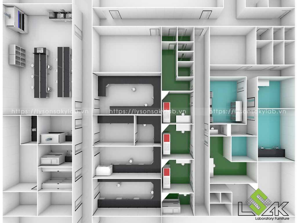 Thiết kế phòng thí nghiệm uy tín chất lượng nhất
