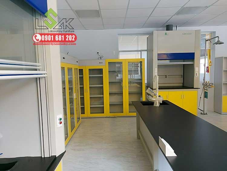 Tủ hút khí độc, tủ lưu mẫu phòng thí nghiệm