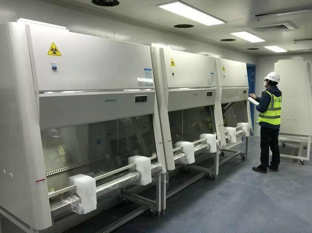 Tủ an toàn sinh học phòng thí nghiệm Hỏa Nhãn