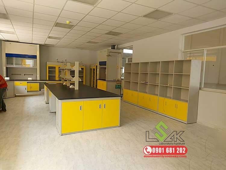 Dự án nội thất phòng thí nghiệm Công Ty TNHH Techbond MFG (Việt Nam)