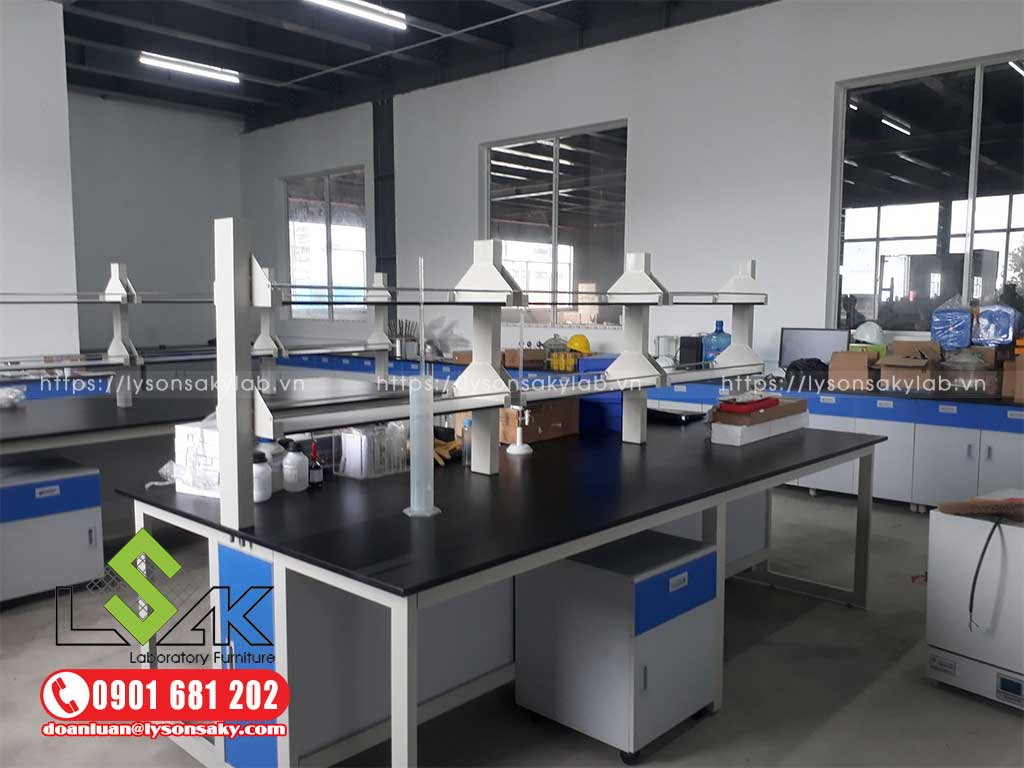 Bàn giao nội thất phòng thí nghiệm hóa lý Leoch Battery (Việt Nam)