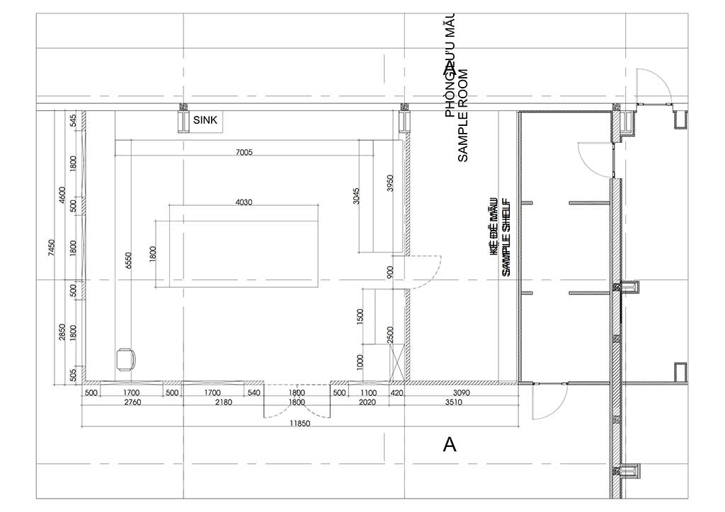 Thiết kế phòng lab Nhà máy Chế biến hạt điều Intersnack Long An
