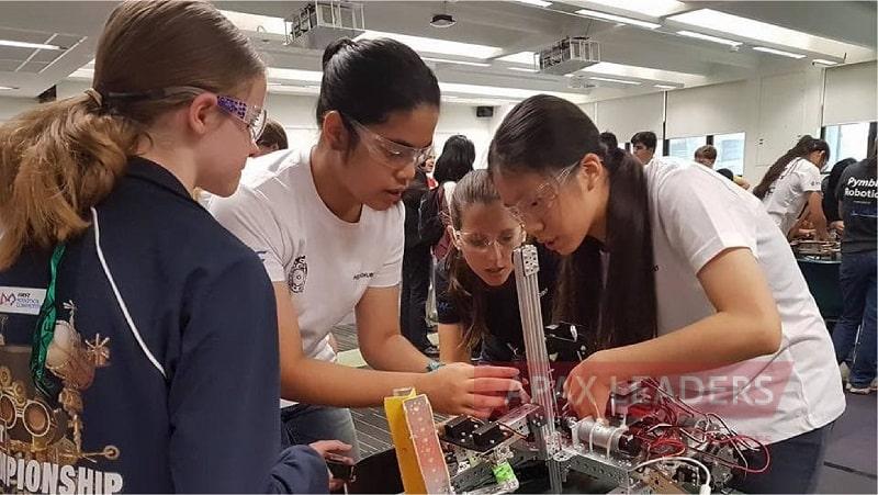 lop học robot stem