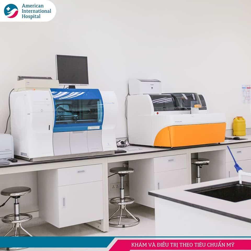 Khoa Xét nghiệm Bệnh viện AIH