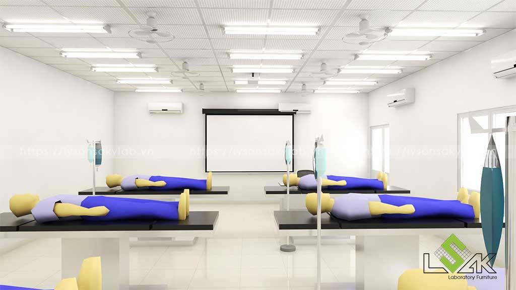 Phòng lab tiền lâm sàn Đại Học Hồng Bàng