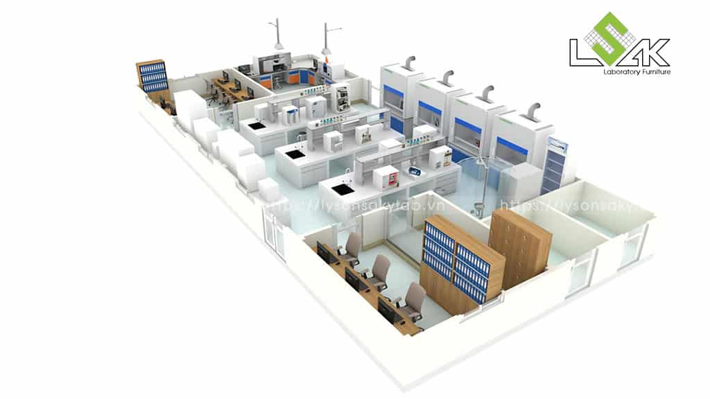 Thiết kế trung tâm R&D Center