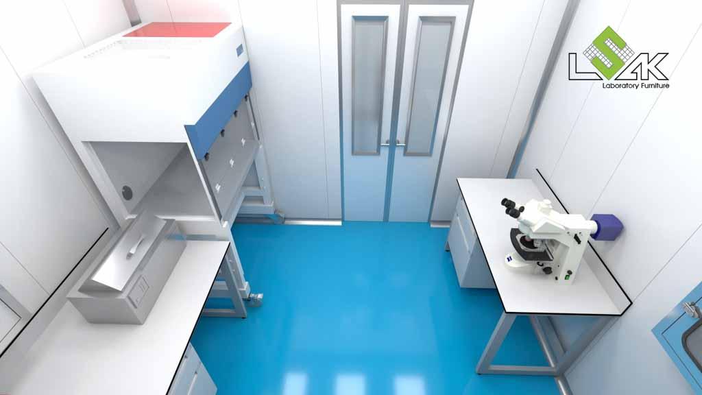 tủ cấy vi sinh phòng thí nghiệm nuôi trồng thủy sản