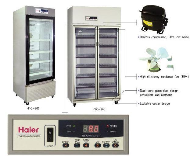 tủ lạnh bảo quản mẫu cho các thí nghiệm hóa sinh