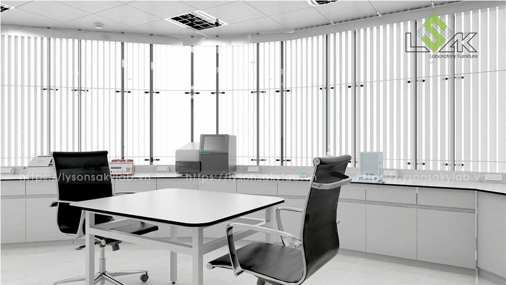 tư vấn thiết kế nội thất phòng thí nghiệm