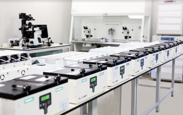 Hệ thống tủ nuôi cấy đơn ngăn tại Vinmec