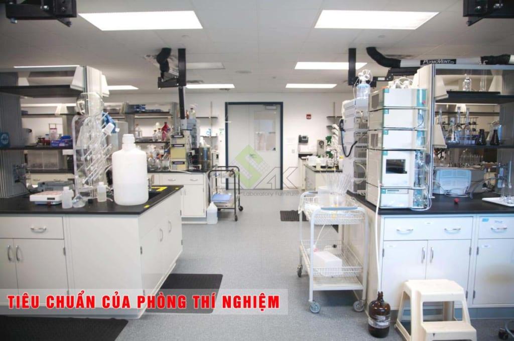 tiêu chuẩn của phòng thí nghiệm