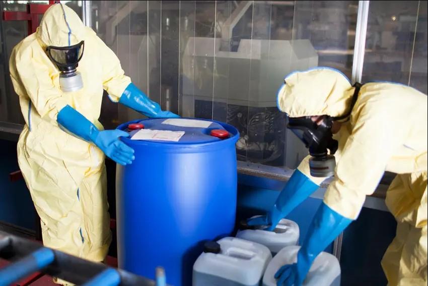 phương pháp thải bỏ hóa chất