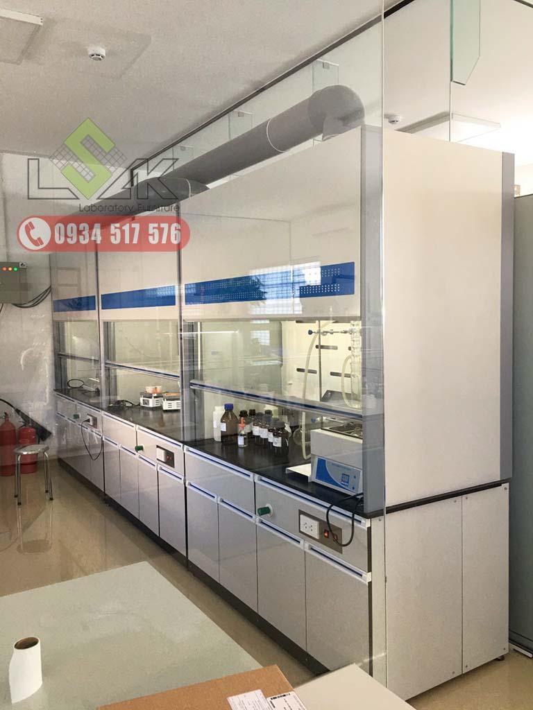 Hệ thống tủ hút khí độc phòng thí nghiệm