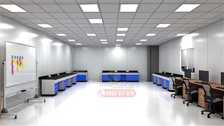 Thiết kế phòng lab Công Ty TNHH Cs Bearing Việt Nam