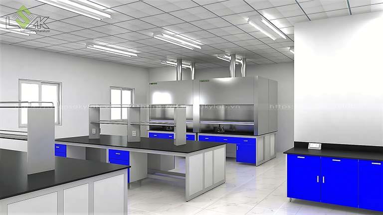Thiết kế trung tâm nghiên cứu và phát triển sản phẩm Nanpao Resin Việt Nam