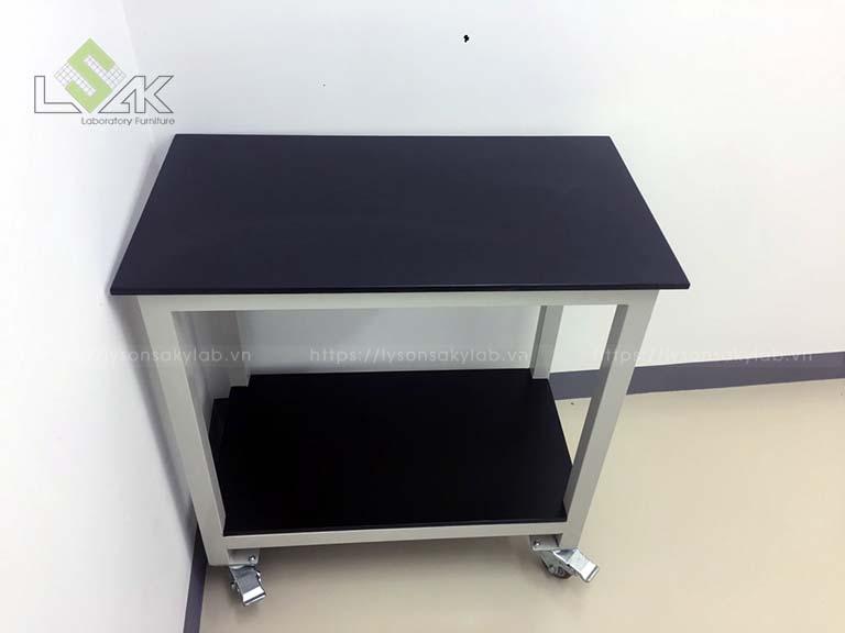 Xe đẩy phòng sạch / Clean room cart 800x450x800mm DxRxC