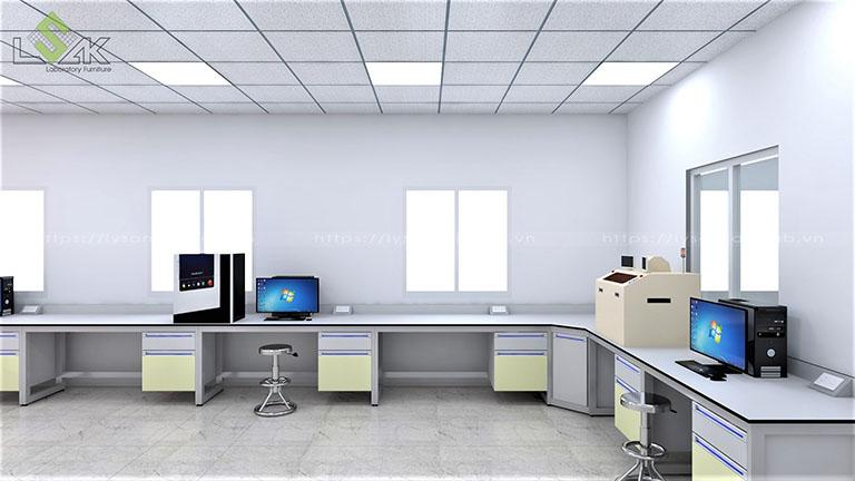 Phòng thiết bị công nghệ cao