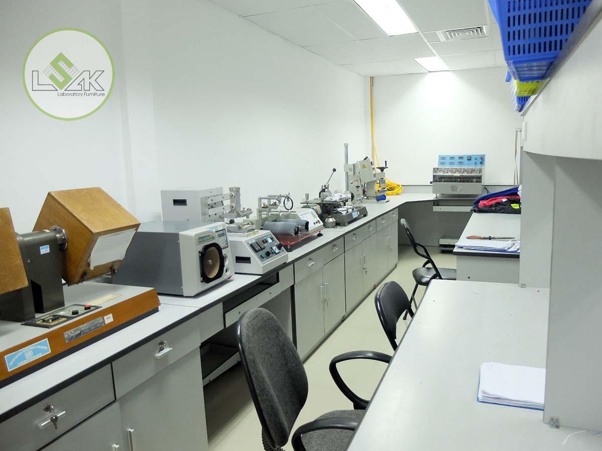 Phòng lab trung tâm thí nghiệm dệt may (TTC)