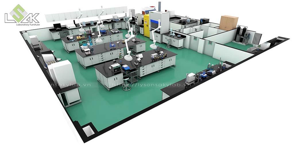 Thiết kế trung tâm nghiên cứu & phát triển sản phẩm giấy và bột giấy