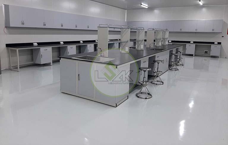 Bàn thí nghiệm trung tâm phòng sạch trang trại bò sữa công nghệ cao