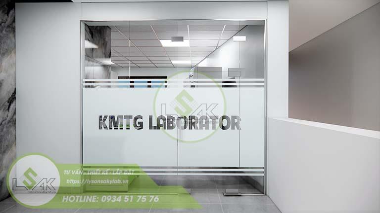 Thiết kế nội thất phòng lab nghiên cứu và Phát triển công nghệ sinh học