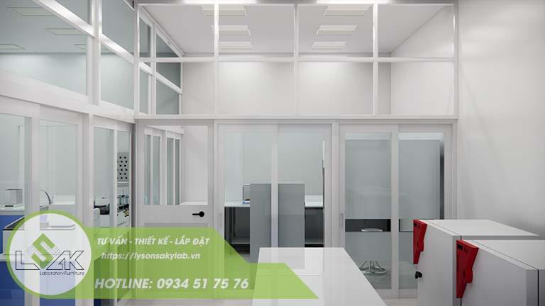 Thiết kế phòng ủ vi sinh phòng thí nghiệm nhà máy sữa Lothamilk
