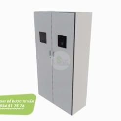 Tủ đựng bình khí trong phòng thí nghiệm