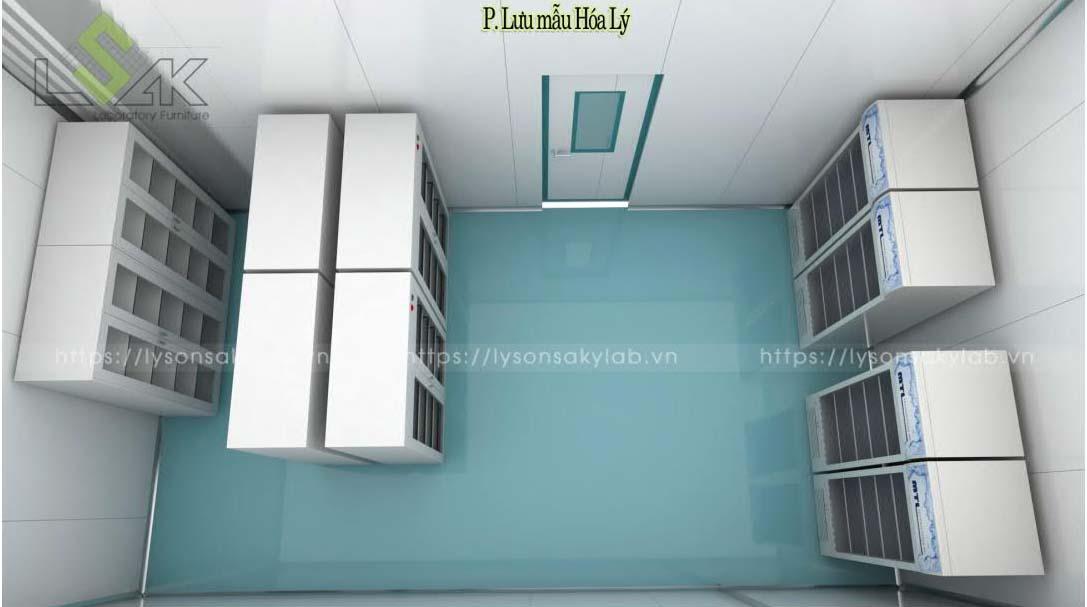 Phòng lưu mẫu hóa lý