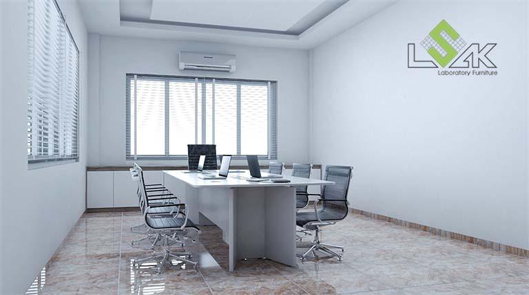 Thiết kế phòng họp nội thất văn phòng nhà máy sản xuất gia vị thực phẩm