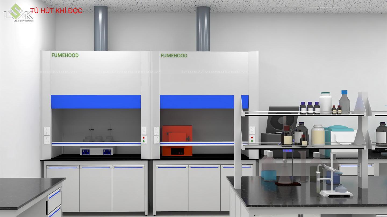 Tủ hút khí độc phòng thí nghiệm