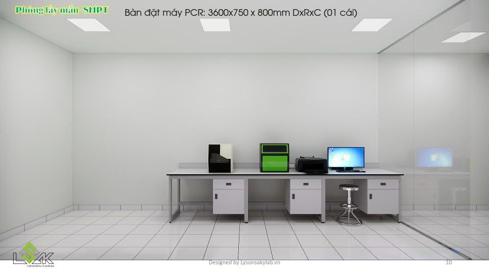 Phòng lấy mẫu sinh học phân tử